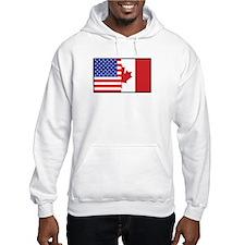 USA/Canada Hoodie Sweatshirt