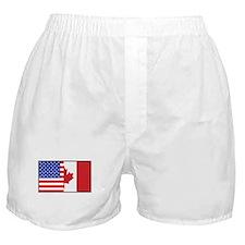 USA/Canada Boxer Shorts
