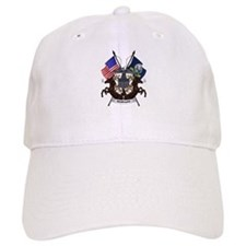 Navy Mustang Emblem Baseball Baseball Cap