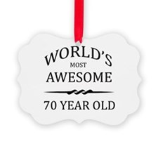 World's Most Awesome 70 Year Old Ornament