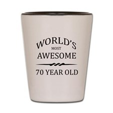 World's Most Awesome 70 Year Old Shot Glass
