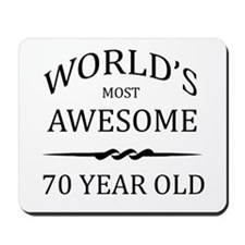 World's Most Awesome 70 Year Old Mousepad