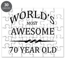 World's Most Awesome 70 Year Old Puzzle