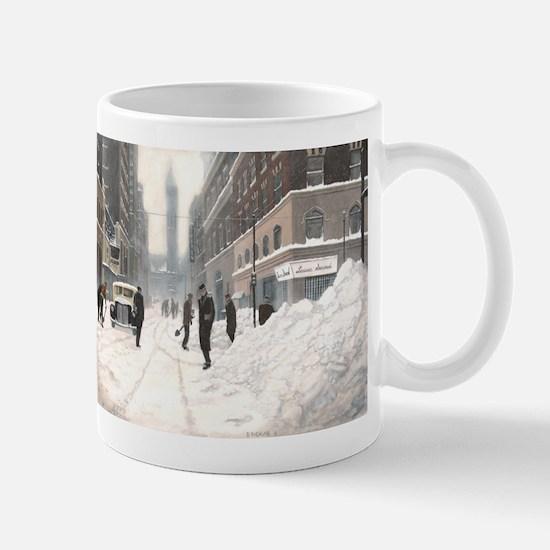 Blizzard on Bay Mug