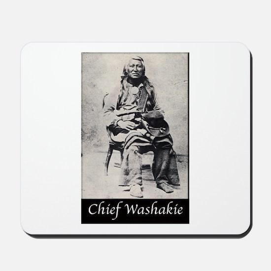 Chief Washakie Mousepad