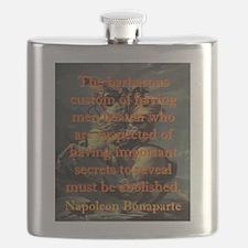 The Barbarous Custom - Napoleon Flask
