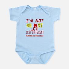I'm not Crazy just different Curling Infant Bodysu