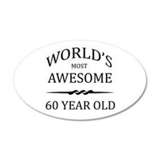 World's Most Awesome 60 Year Old Wall Decal