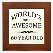 World's Most Awesome 60 Year Old Framed Tile