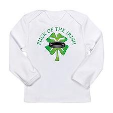 Puck of the Irish Long Sleeve T-Shirt