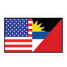 USA/Antigua Barbuda Postcards (Package of 8)
