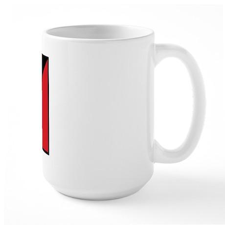 USA/Antigua Barbuda Large Mug