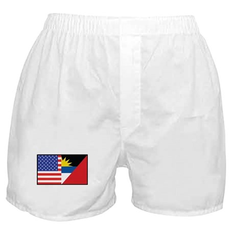 USA/Antigua Barbuda Boxer Shorts