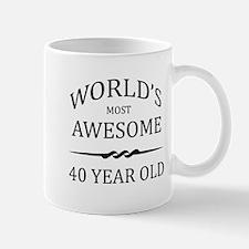World's Most Awesome 40 Year Old Mug