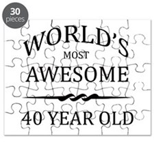 World's Most Awesome 40 Year Old Puzzle