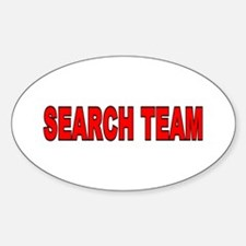 Search Team Oval Decal