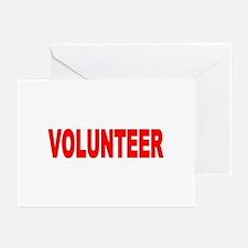 VOLUNTEER Items Greeting Cards (Pk of 10)