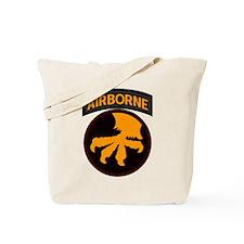 17th Airborne Tote Bag