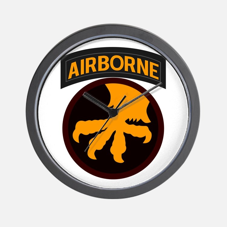 17th Airborne Wall Clock