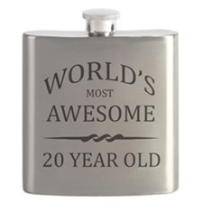 World's Most Awesome 20 Year Old Flask