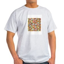 Origami Flowers T-Shirt