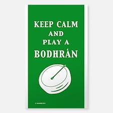 Irish Bodhran Decal