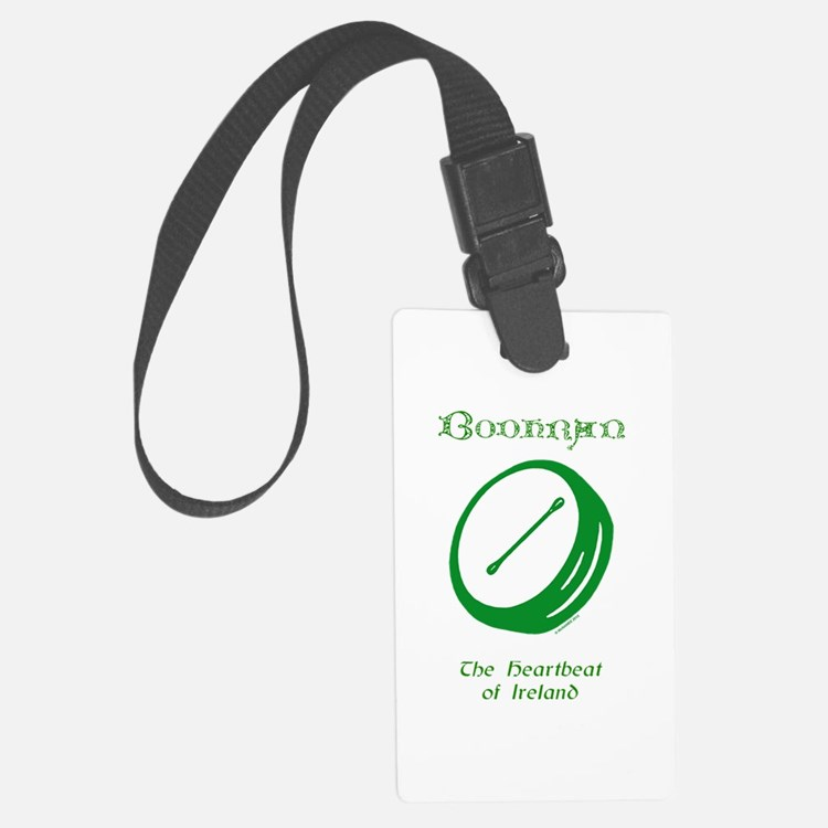 Irish Bodhran Luggage Tag