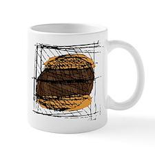 Burger PNG Mug