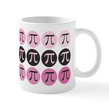 Pink Mod Pi Small Mug