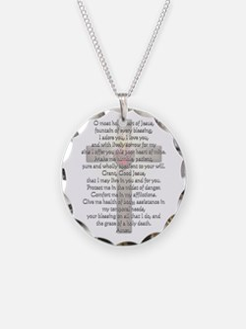 Sacred Heart of Jesus Cross Necklace