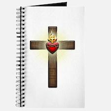 Sacred Heart of Jesus Cross Journal