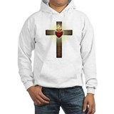 Sacred heart Hooded Sweatshirt