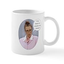 "Wild Librarian Mug ""You can't shock a Librari"
