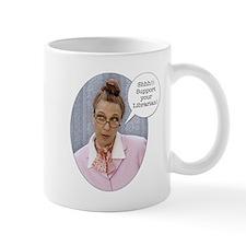"Wild Librarian Mug ""If silence is golden...&q"