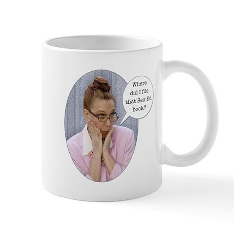 "Wild Librarian Mug ""Walk on the wild side&quo"