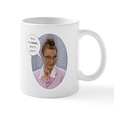 "Wild Librarian Mug ""I like a man who can read"