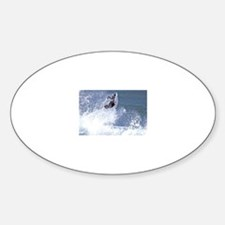 Surf and Bodyboard Oval Decal