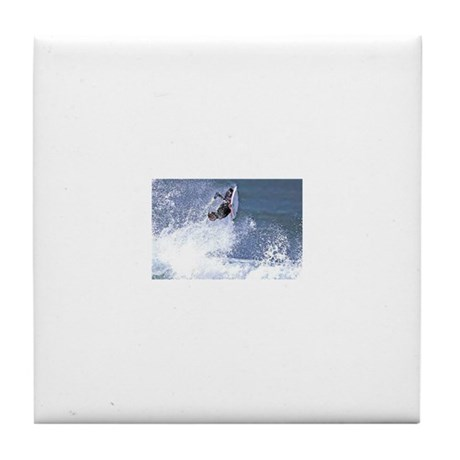 Surf and Bodyboard Tile Coaster