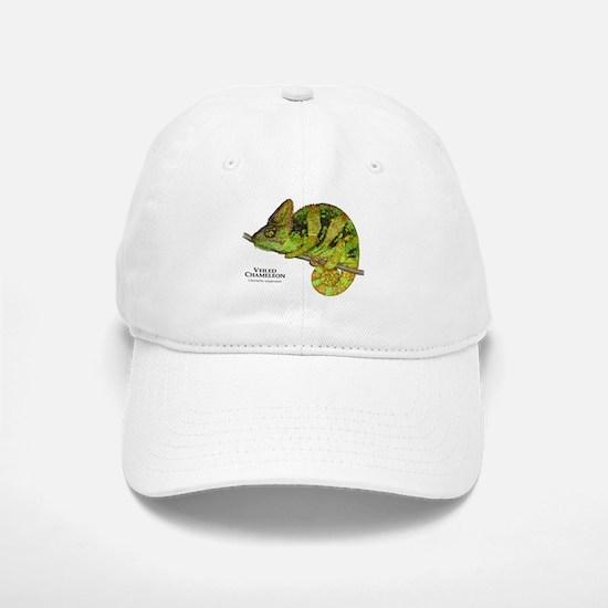 Veiled Chameleon Baseball Baseball Cap