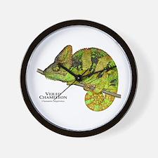 Veiled Chameleon Wall Clock