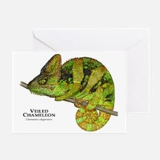 Veiled Chameleon Greeting Card