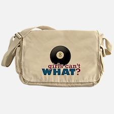 Eight Ball Girl Messenger Bag