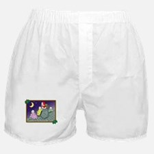 Christmas on the Roof Boxer Shorts