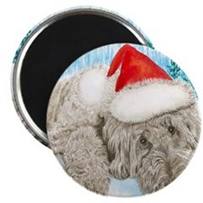 Christmas Labradoodle Magnet