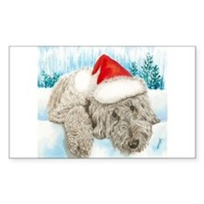 Christmas Labradoodle Decal