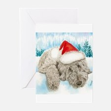 Christmas Labradoodle Greeting Cards (Pk of 20)