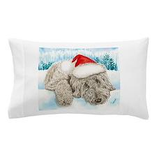 Christmas Labradoodle Pillow Case