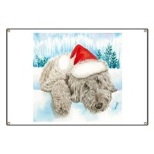 Christmas Labradoodle Banner