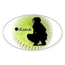 iCatch Fastpitch Softball Decal