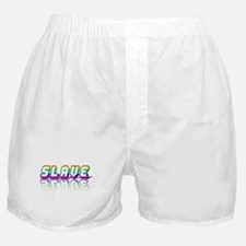 SLAVE RAINBOW TEXT Boxer Shorts